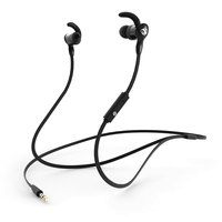 NCredible AX-P In-Ear Wired Sport Earbuds - Black