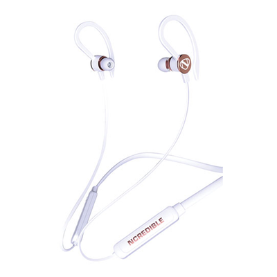 Ncredible Play Wireless Bluetooth Sport Earbuds White Rose Gold