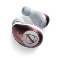 NCredible Flow True Wireless Bluetooth Earbuds: White  		 /  Rose Gold