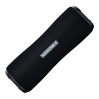 NCredible Cannon Portable, Waterproof Bluetooth Speaker: Black  /  Gunmetal