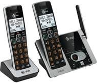 AT&T DECT 6.0 2-Handset Phone System w/ Digital Answering System