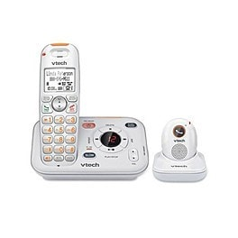VTech SN6187 CareLine Cordless Phone System w/ Portable Safety Pendant