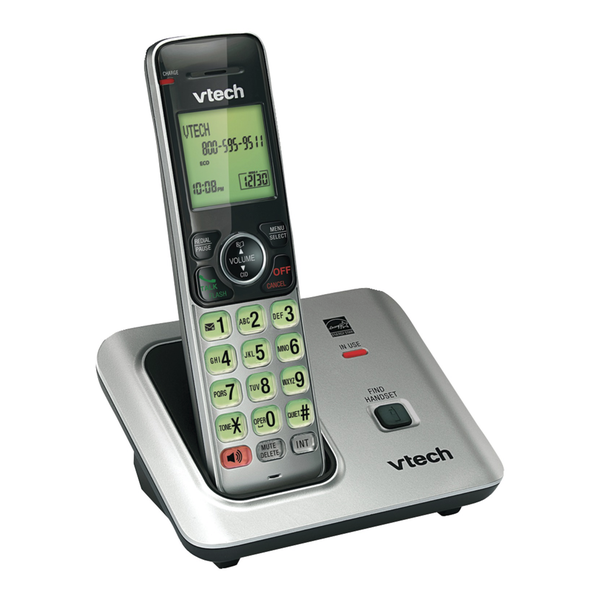 VTech CS6619 Cordless Phone with Caller ID