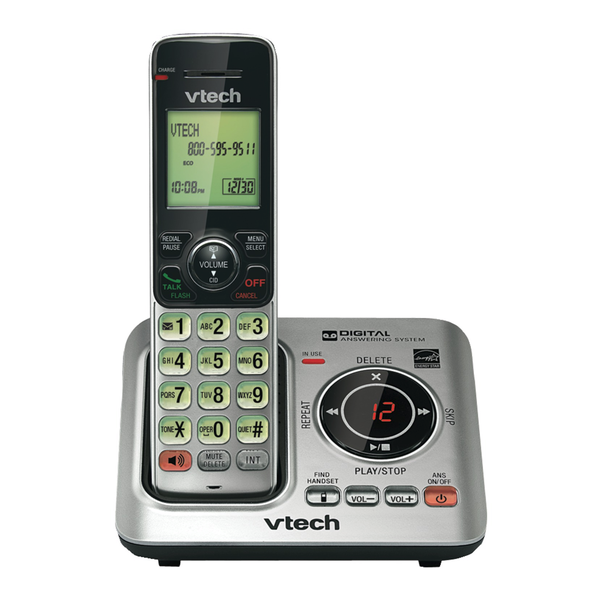 VTech CS6629 Cordless Phone with Answering System and Caller ID