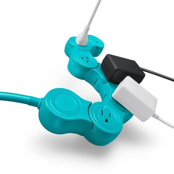 Quirky Pivot Power Pop Surge Protector (Blue)