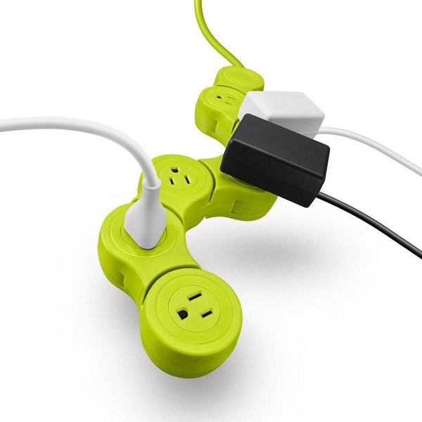 Quirky Pivot Power Pop Surge Protector (Green)