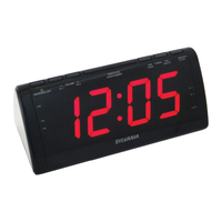 Sylvania Jumbo-Digit AM/FM Alarm Clock Radio