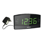 Sylvania Jumbo-Digit AM/FM Alarm Clock Radio with Bluetooth