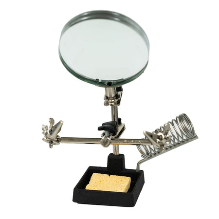 RadioShack Helping Hands with Magnifier and Soldering Iron Stand