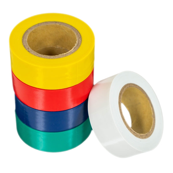 3/4-Inch Multicolored Electrical Tape (5-Pack)