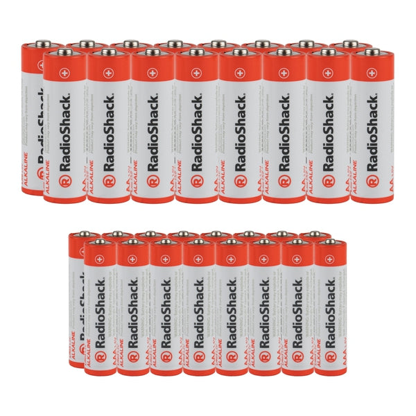 AA + AAA Alkaline Batteries Value Pack (32-Pack)