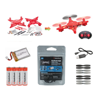 DIY Drone Kit: Bundle With Batteries & Crash Pack