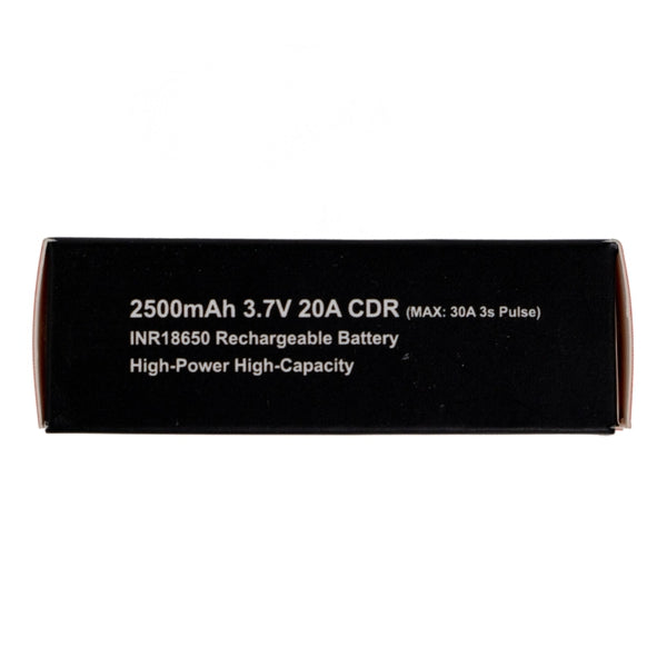 INR 18650 3.7V Li-Ion Rechargeable Battery