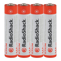 AAA Alkaline Batteries: 4-pack