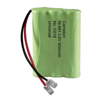 C018 3.6V Ni-MH Cordless Phone Battery, 600 mAh