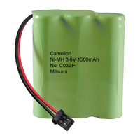 BT-318 3.6V Ni-MH Cordless Phone Battery, 1500 mAh