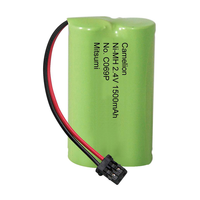 BT-904 / BT-1007 2.4V Ni-MH Cordless Phone Battery, 1500 mAh