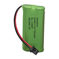 BT-1008 2.4V Ni-MH Cordless Phone Battery, 730 mAh BT705 BT1016 BT1019 BT1021 BT1025