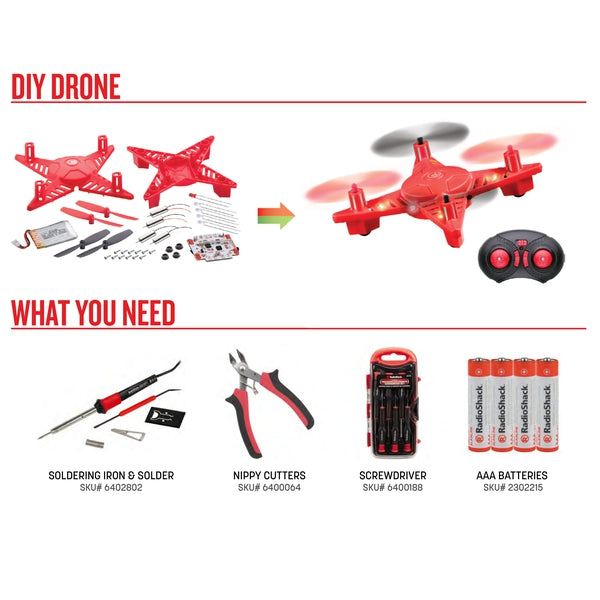 Image of DIY Drone Bundle with Tools and Batteries