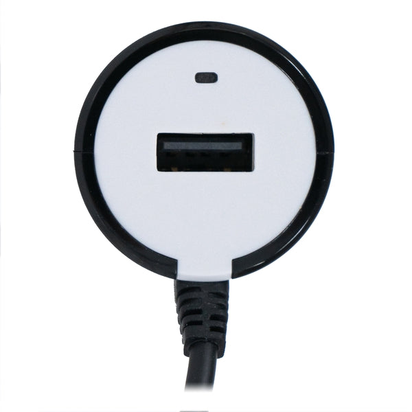 Micro USB Car Charger with Extra USB Port 5V 2.4A