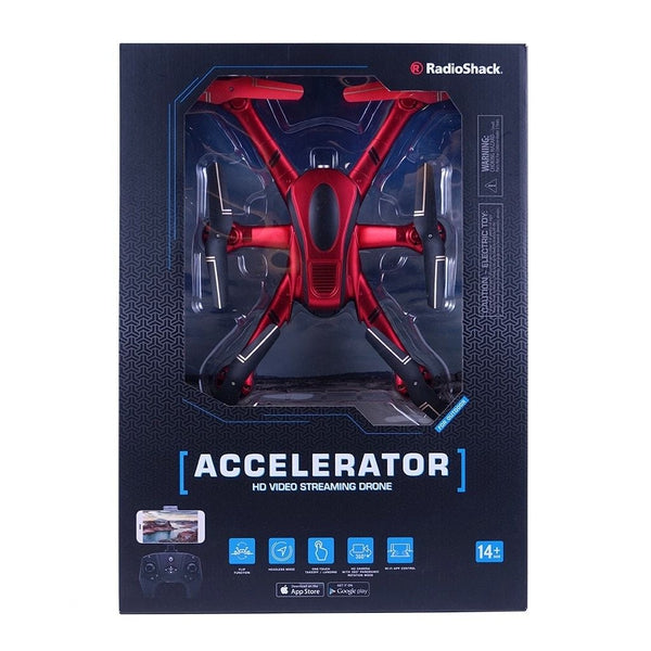 RadioShack 16 Accelerator Video Streaming HD Camera Drone