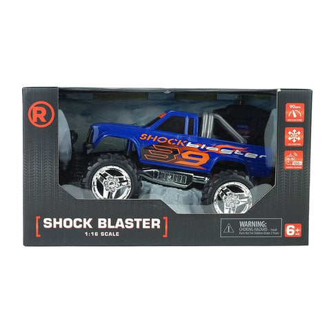 RadioShack Remote Control Turbo Shock Blaster 1:16 Scale