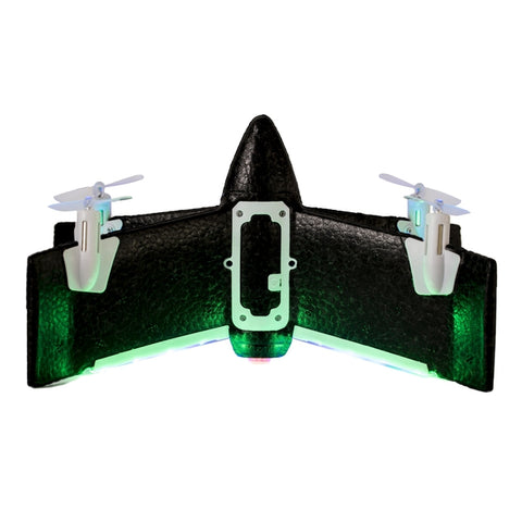 Z-Wing Drone with multicolored LEDs