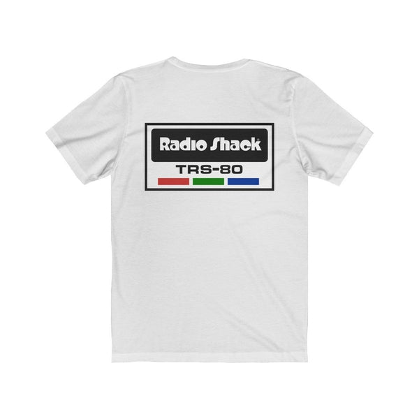 Retro RadioShack T-Shirt with TRS-80 Logo On Back