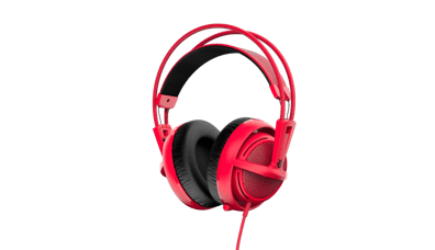 SteelSeries Siberia 200 Forged Gaming Headset (Red)