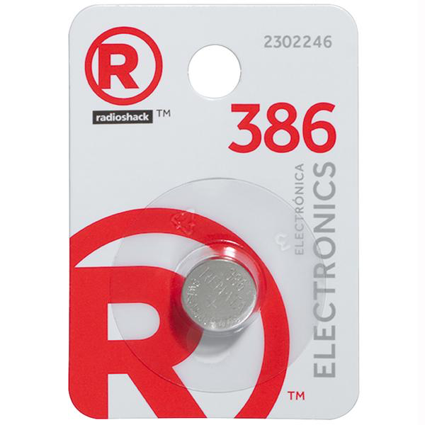 386 1.55V Silver-Oxide Button Cell Battery