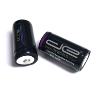 18350 3V Rechargeable Lithium Ion Battery (2-Pack)
