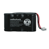 3.6V 600MAH Ni-Cd Cordless Phone Battery
