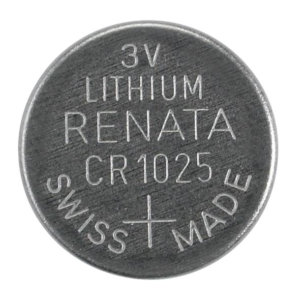 CR1025 3V Lithium Button Cell Battery