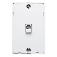 4-Pin Wall Mount - White