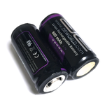 18350 800mAh 3.7V Lithium Ion Battery (2-Pack)