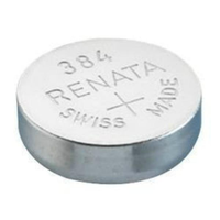 384 1.55V Silver-Oxide Button Cell Battery