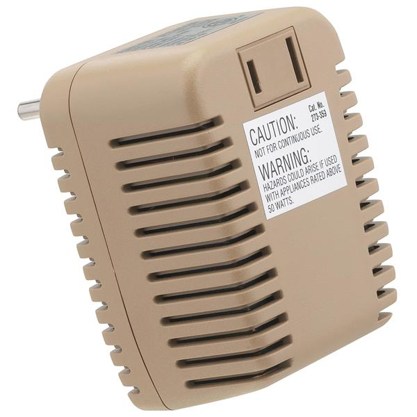 50W Foreign Travel Voltage Converter Adapter
