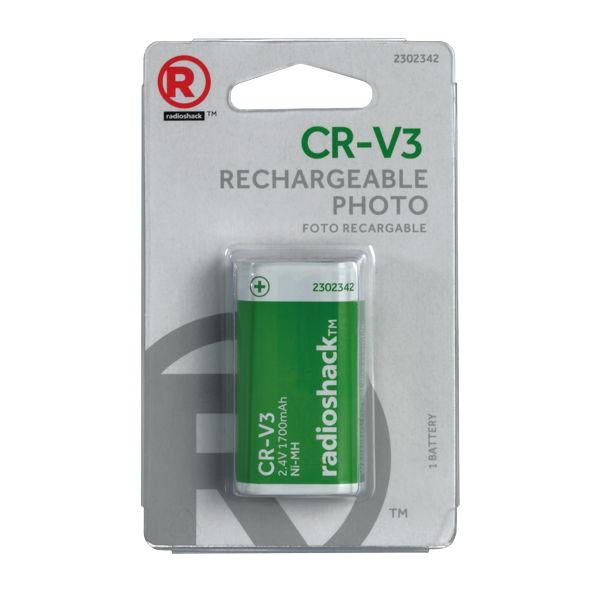 CR-V3 Ni-MH Rechargeable Photo Battery