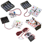 Classroom Set of Project Kits: 30 Assorted Kits with Batteries
