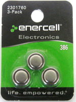 386 Button Cells Battery (3-Pack)