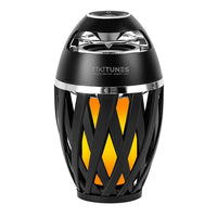 TikiTunes Portable Bluetooth Wireless Speaker with LED Atmospheric Lighting Effect: Speaker