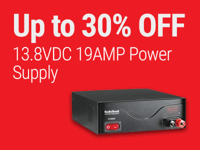 Up to 30% OFF RadioShack 13.8VDC 19AMP Power Supply