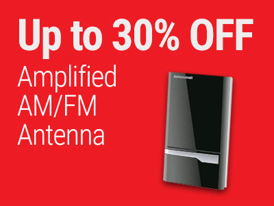 Up to 30% OFF AntennaCraft Amplified AM/FM Antenna
