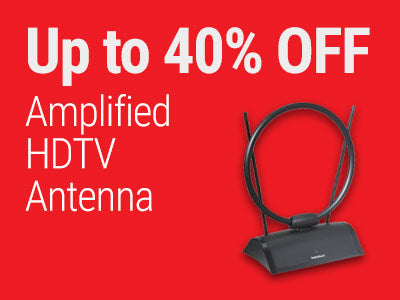 Up to 40% OFF RadioShack Amplified HDTV Antenna