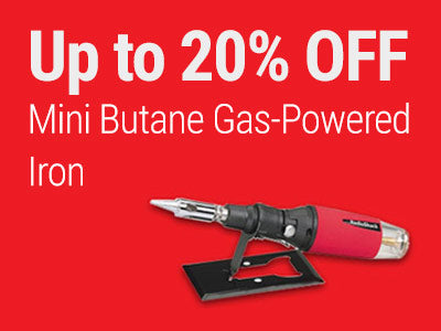 Up to 20% OFF RadioShack Mini Butane Gas-Powered Iron