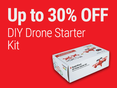 Up to 40% OFF RadioShack DIY Drone Starter Kit