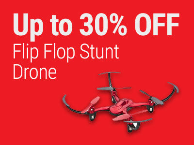 Up to 30% OFF RadioShack Flip FLop Stunt Drone