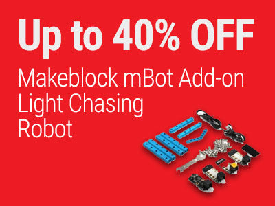 Up to 40% OFF Makeblock mBot Add-on Light Chasing Robot