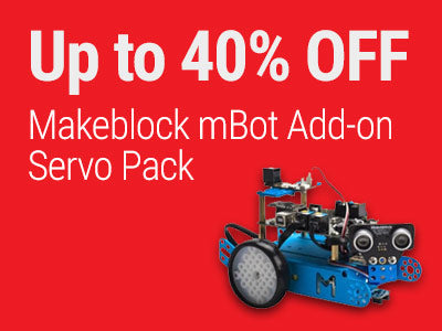 Up to 40% OFF Makeblock mBot Add-on Servo Pack