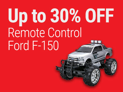 Up to 30% OFF RadioShack 1:10 Scale Remote Control Ford F-150 with Off-Road Oversized Tires and Elevated Chassis